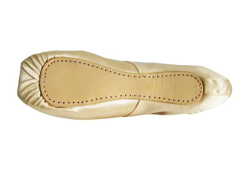 SATIN POINTE SHOES HARD SHANK